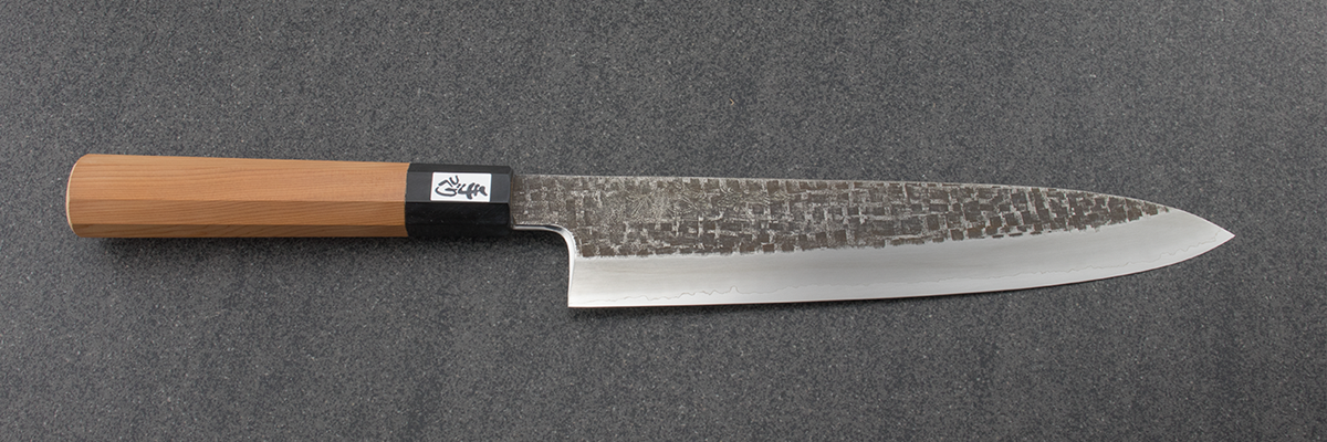 Tsubaya Chef knife, Ginsan, japanese knife, chefs knife