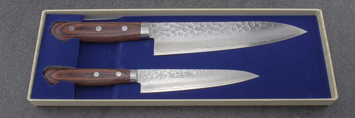 Hitohira HG knife set, gyuto, petty, Japanese knife, chefs knife