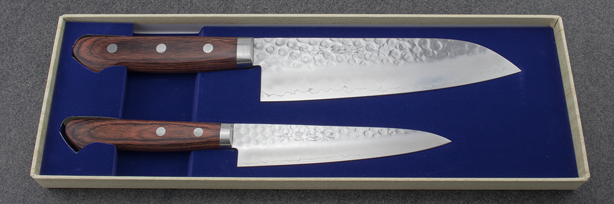 Hitohira HG knife set, Santoku, petty, Japanese knife, chefs knife